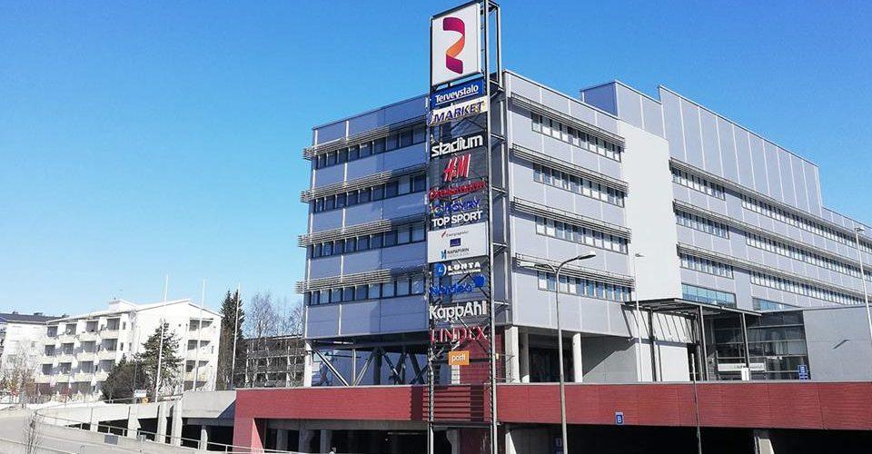 Kauppakeskus Revontuli - Shopping Center Revontuli
