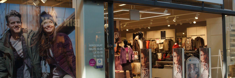 Kauppakeskus Revontuli - Luhta Brand Store - Shopping Centre Revontuli