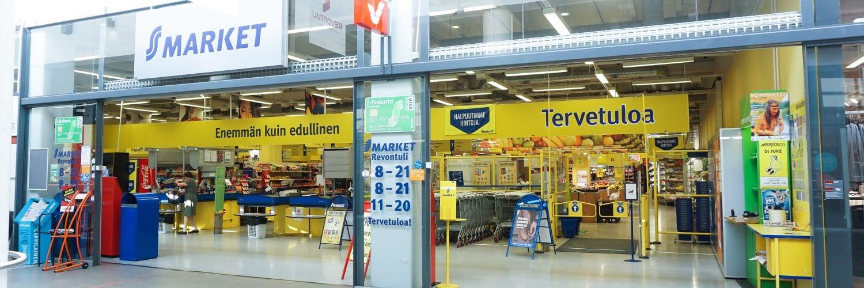 Kauppakeskus Revontuli - S-Market - Shopping Centre Revontuli
