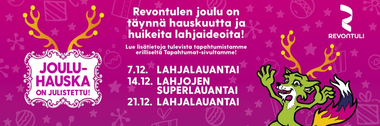 Shopping Center Revontuli Christmas
